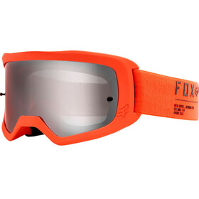 Fox Main II Gain Spark Goggles, fluorescent orange/chrome mirrored